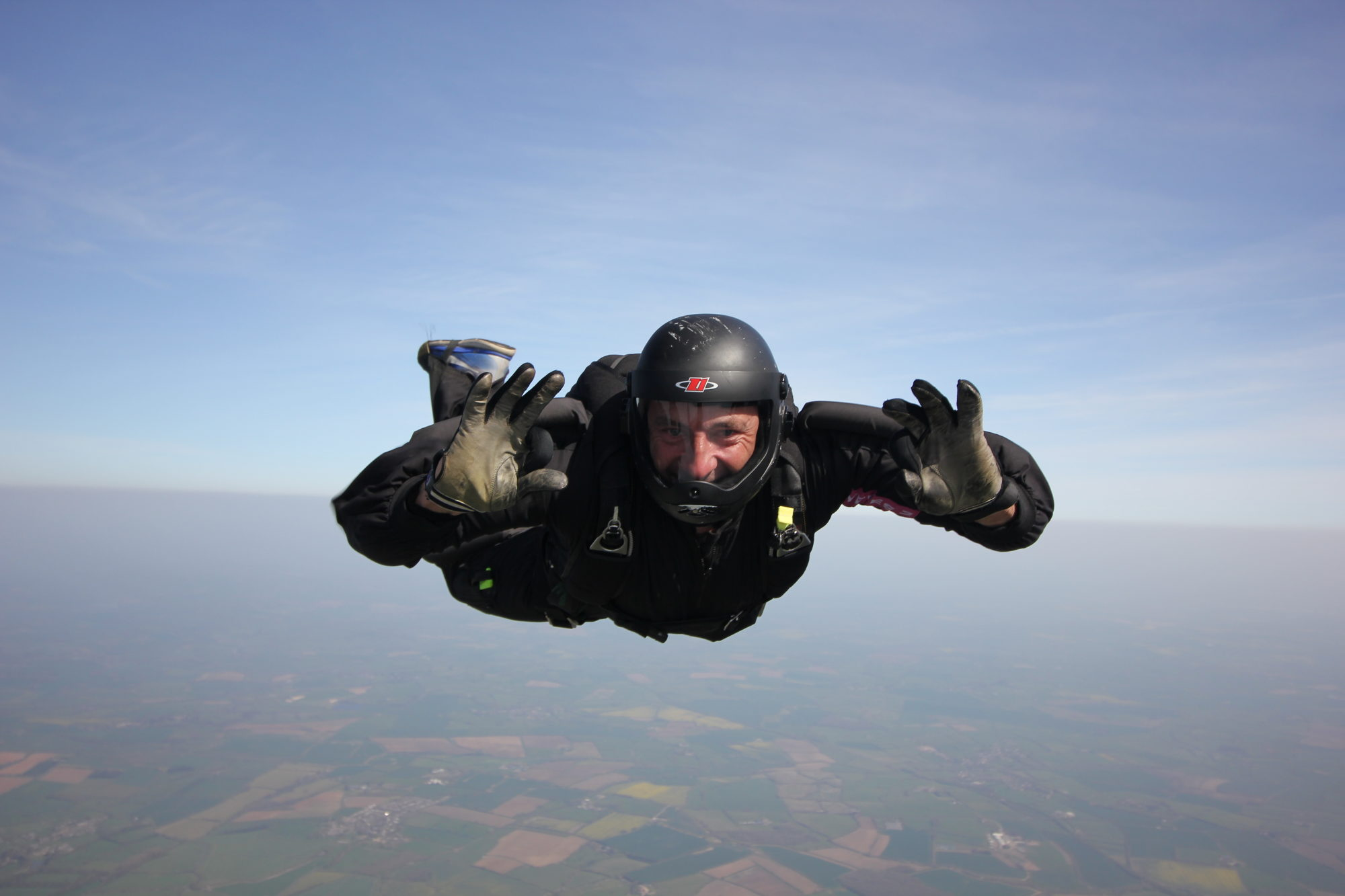 Skydive rehearsals